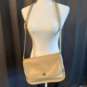 Coach City Bag Vintage Crossbody Beige Shoulder